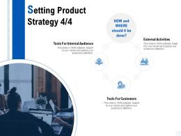 Setting Product Strategy Customers Ppt Powerpoint Presentation Ideas Visuals