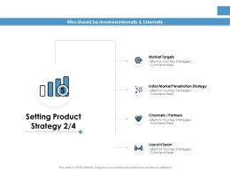 Setting Product Strategy Finance Ppt Powerpoint Presentation Show Guidelines