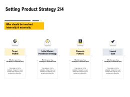Setting Product Strategy Initial Market Ppt Powerpoint Presentation Infographics Demonstration