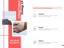 Setting Product Strategy Planning Ppt Powerpoint Presentation Slides Topics