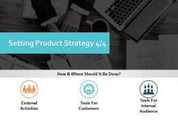 Setting Product Strategy Ppt Powerpoint Presentation Gallery Pictures