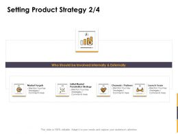 Setting Product Strategy Team Ppt Powerpoint Presentation Outline Layouts