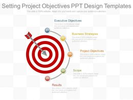 Setting Project Objectives Ppt Design Templates