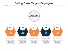 Setting Sales Targets Employees Ppt Powerpoint Presentation Pictures Skills Cpb