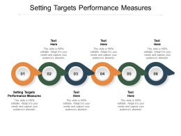 Setting Targets Performance Measures Ppt Powerpoint Presentation Images Cpb