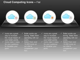 Settings Power Global Cloud Computing Ppt Icons Graphics