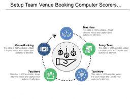 Setup Team Venue Booking Computer Scorers Tabulation Results