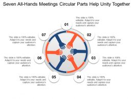 Seven All Hands Meetings Circular Parts Help Unity Together
