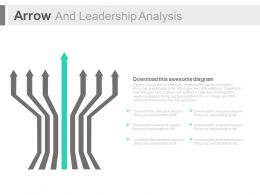 Seven Arrows And Leadership Analysis Powerpoint Slides