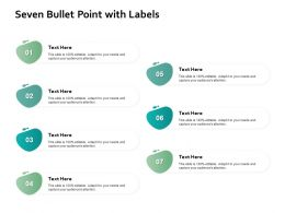 Seven Bullet Point With Labels