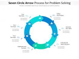 Seven Circle Arrow Process For Problem Solving