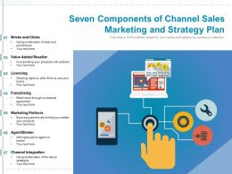 Seven Components Of Channel Sales Marketing And Strategy Plan