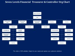 Seven Levels Financial Treasurer And Controller Org Chart