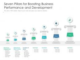 Seven Pillars For Boosting Business Performance And Development