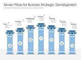 Seven Pillars For Business Strategic Development