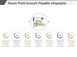 Seven Point Account Payable Infographic Ppt Background Designs