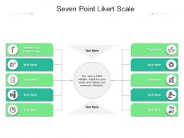 Seven Point Likert Scale Ppt Powerpoint Presentation Ideas Microsoft Cpb