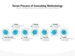 Seven Process Of Consulting Methodology