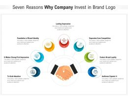 Seven Reasons Why Company Invest In Brand Logo