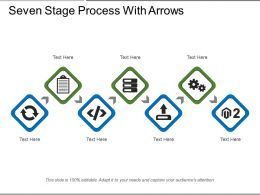 Seven Stage Process With Arrows