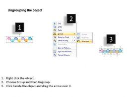 88222834 Style Circular Zig-Zag 7 Piece Powerpoint Presentation Diagram Infographic Slide