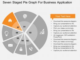 seven_staged_pie_graph_for_business_application_flat_powerpoint_design_Slide08