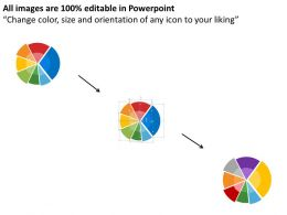 seven_staged_pie_graph_for_business_application_flat_powerpoint_design_Slide09