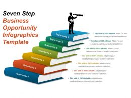 Seven Step Business Opportunity Infographics Template Ppt Slide