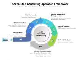 Seven Step Consulting Approach Framework