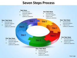 Seven Steps diagram Process 12
