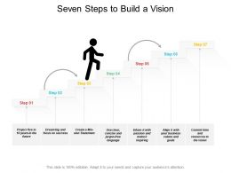 Seven Steps To Build A Vision