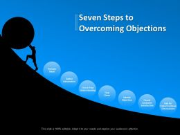 Seven Steps To Overcoming Objections