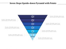 Seven Steps Upside Down Pyramid With Points
