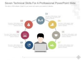Seven Technical Skills For A Professional Powerpoint Slide