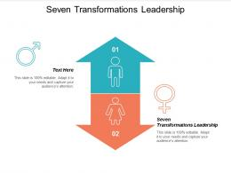 Seven Transformations Leadership Ppt Powerpoint Presentation Infographic Template Layout Cpb