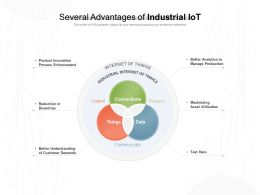 Several Advantages Of Industrial Iot
