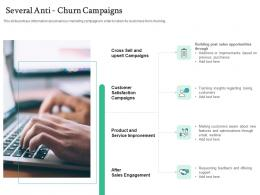 Several Anti Churn Campaigns Handling Customer Churn Prediction Golden Opportunity Ppt Graphics