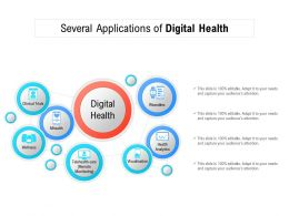 Several Applications Of Digital Health