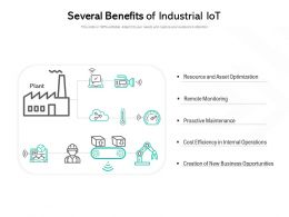 Several Benefits Of Industrial Iot