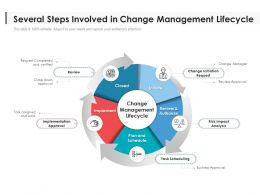 Several Steps Involved In Change Management Lifecycle