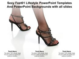 Sexy Feet01 Lifestyle Templates Backgrounds With All Slides Ppt Powerpoint