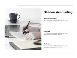 Shadow Accounting Ppt Powerpoint Presentation Icon Information Cpb