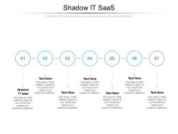 Shadow It SAAS Ppt Powerpoint Presentation Show Example Cpb