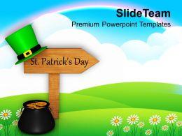 shamrock_st_patricks_day_signpost_festival_powerpoint_templates_ppt_backgrounds_for_slides_Slide01