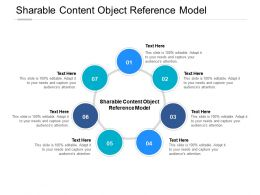 Sharable Content Object Reference Model Ppt Powerpoint Presentation Ideas Slide Portrait Cpb