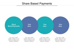 Share Based Payments Ppt Powerpoint Presentation Summary Templates Cpb