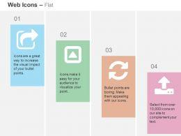share_caret_square_refresh_upload_ppt_icons_graphics_Slide01