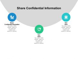 Share Confidential Information Ppt Powerpoint Presentation Outline Designs Download Cpb