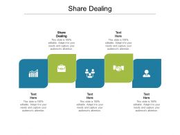 Share Dealing Ppt Powerpoint Presentation Summary Grid Cpb
