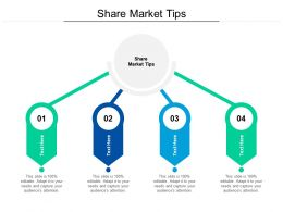 Share Market Tips Ppt Powerpoint Presentation File Visual Aids Cpb